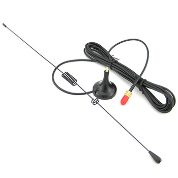 UT-106 Magnetic SMA-Female Car Antenna VHF UHF for Walkie Talkie Baofeng UV 82 UV-5R BF-888S GT-3TP GT-5 Ham Radio Accessories