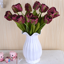 Artificial Silk Flowers Tulip Flower Real Touch Wedding Flower Bouquet Home Party Decorative Flowers & Wreaths цена