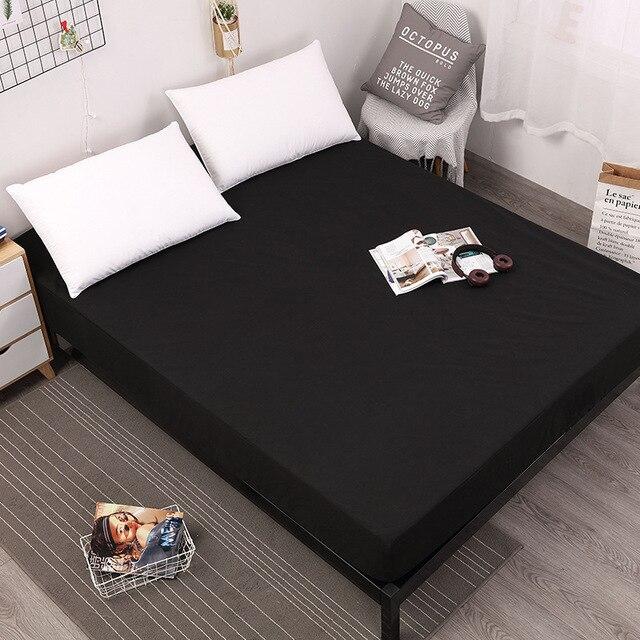 Nueva Funda de colchón de banda elástica con banda elástica de goma impresa sábana de cama Venta caliente ropa de cama