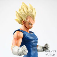 Dragon Ball Z Super Saiyan Vegeta 26CM PVC Action Figure Banpresto Resolution of Soldiers Grandista Vol.2 Collection Model