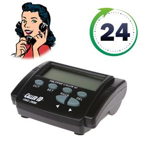 1 Set Dual Signal FSK/DTMF Telephone Call Box Caller ID Mobile Phone LCD Display