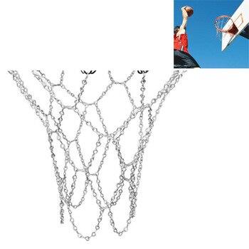 7ed2f6276af0 Deporte clásico Cadena de acero Red de baloncesto al aire libre de acero  galvanizado cadena Red de baloncesto