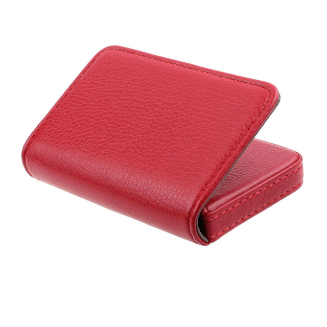 Fashion Business Card Holder Men's Exquisite Magnetic Attractive Card Case Box Mini Wallet Male Credit Card Holder Bolsas #Zer