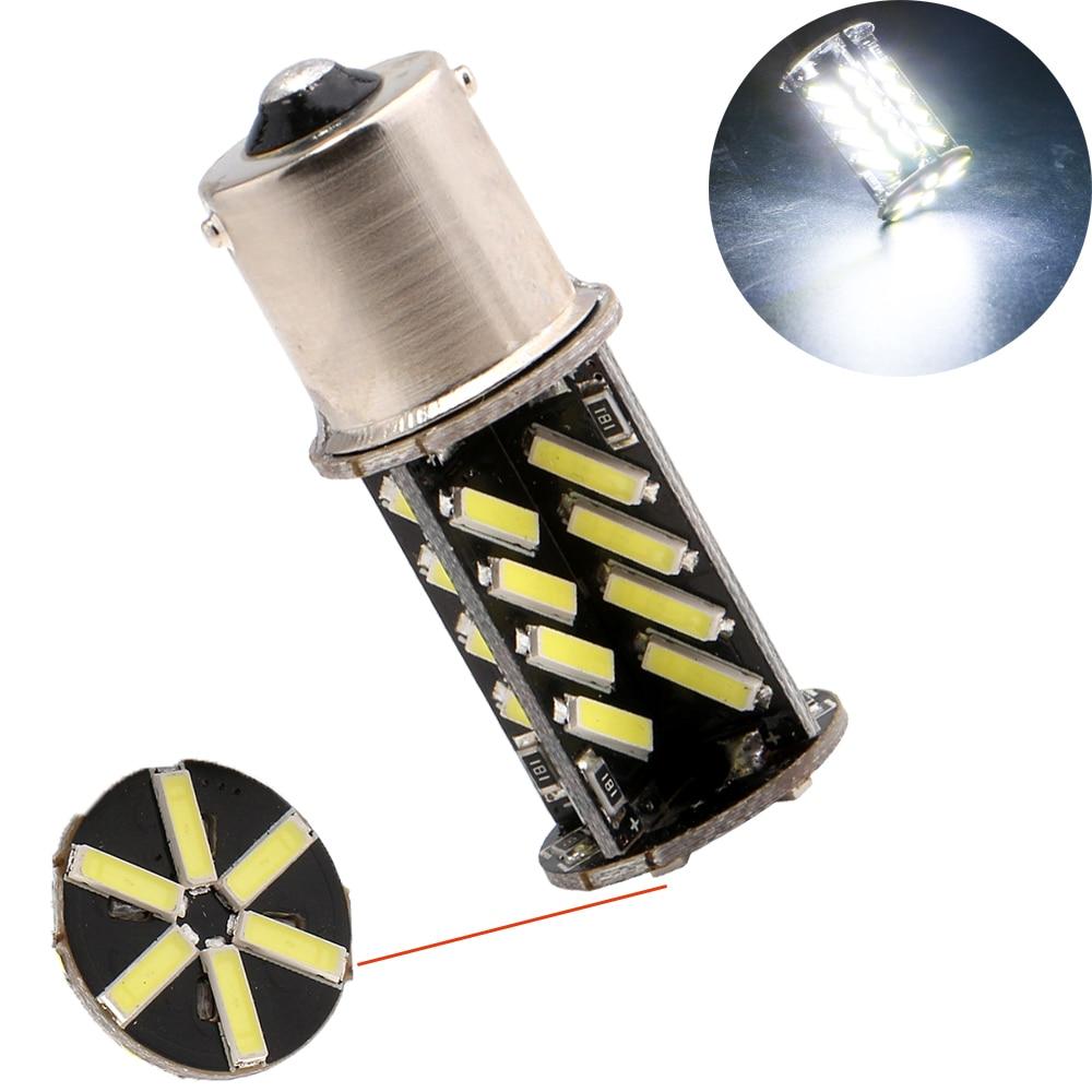 High Power!!! 30Pcs 7014 38 SMD LED 1156 BA15S 1157 BAY15D 3156 3157 7440 7443 Car Turn signal Tail light Brake lights Bulbs