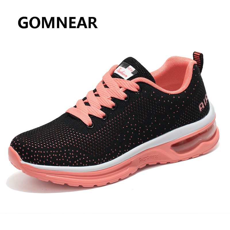2017 zapatos corrientes respirables de jogging correr libremente gomnear ejercic