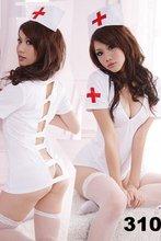 Women s Sexy Nurse Halloween Fancy Dress Sexy lingerie party costume 310