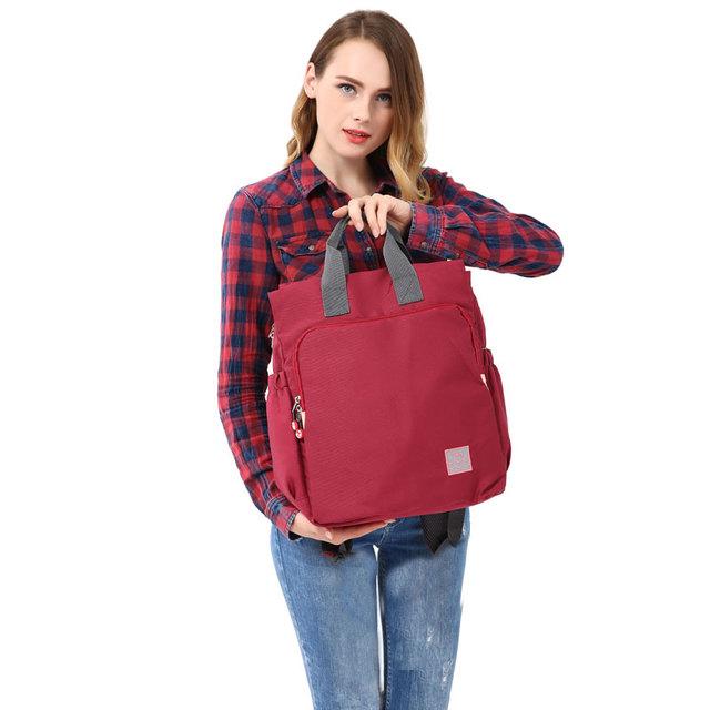 Nueva Llegada Elegante Pañal Del Bebé Mochilas Nappy bolsa Multifuncional bag lady bolso del mensajero de Gran Capacidad Envío Gratis