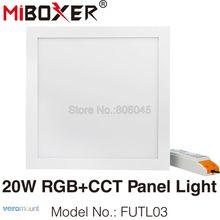 Mi светильник 20 Вт умная квадратная RGB+ CCT светодиодный панельный светильник 295x295 FUTL03 Поддержка 2,4G пульт дистанционного управления/приложение для смартфона WiFi/Alexa Голосовое управление