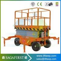 Sinofirst 12 м электрические воздушные Scissor Lift самоходная платформа работы