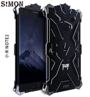 For Xiaomi Note 2 Metal Case Design Armor Heavy Dust Metal Aluminum THOR IRONMAN Protect Phone