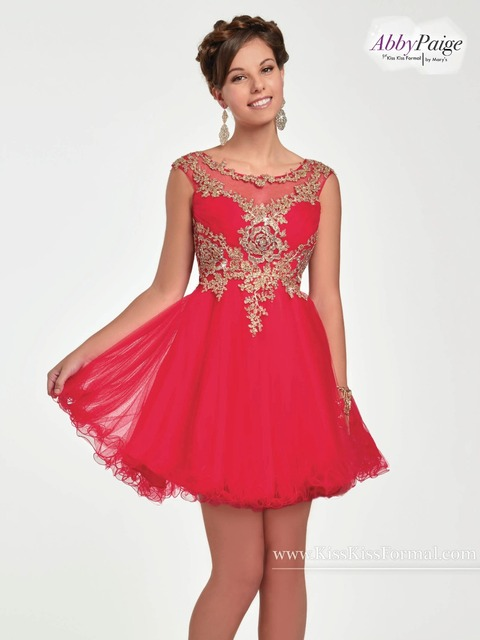 75e525316e3 Tulle prom homecoming dama short gown with bateau neck line