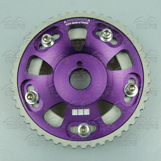 SPECIAL OFFER Original Logo Cam Gear for Toyota Supra 2JZGTE 1JZGTE Purple