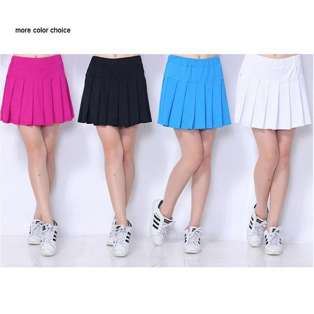 Online Shop Sexemara Tennis Skirts Skorts With Panties Dress Women