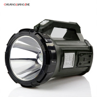 CHUANGLIANGZHE Portable Searchlight Lantern Rechargeable Waterproof Portable Outdoor Lighting Flashlight Spotlight Camping Lamp