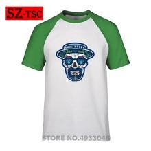 2019 Hot Sale heisenberg hat breaking bad Print Short Sleeves Mens Cotton T shirt Harajuku Summer Men tshirt Tops Clothing