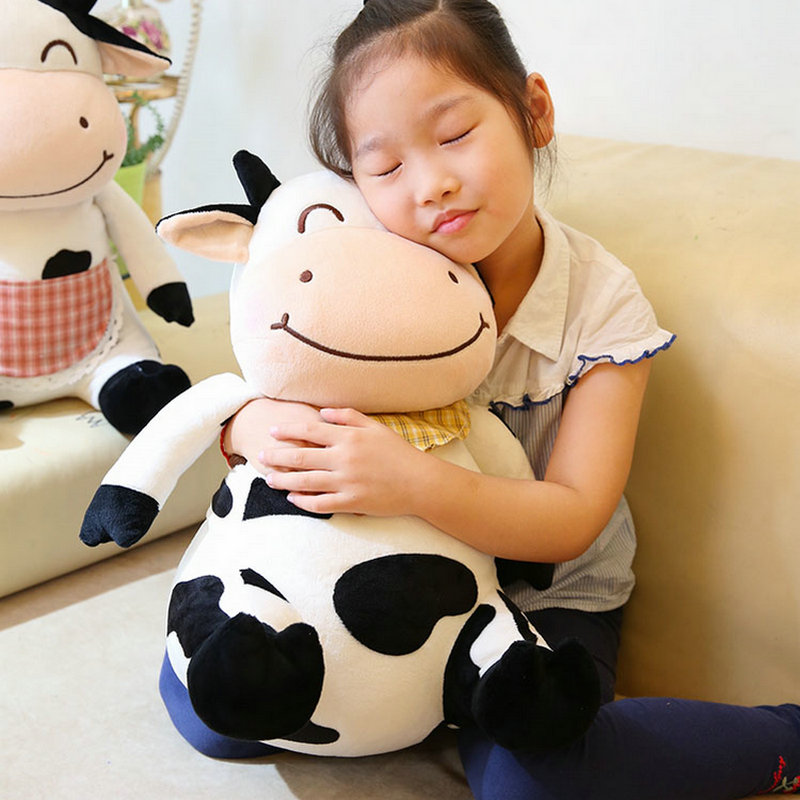 Lovely Lovers Toys Secretary Cow Pet Doll Plush Korean Drama Stuffed Child Toys Birthday Christmas Gift Pillow