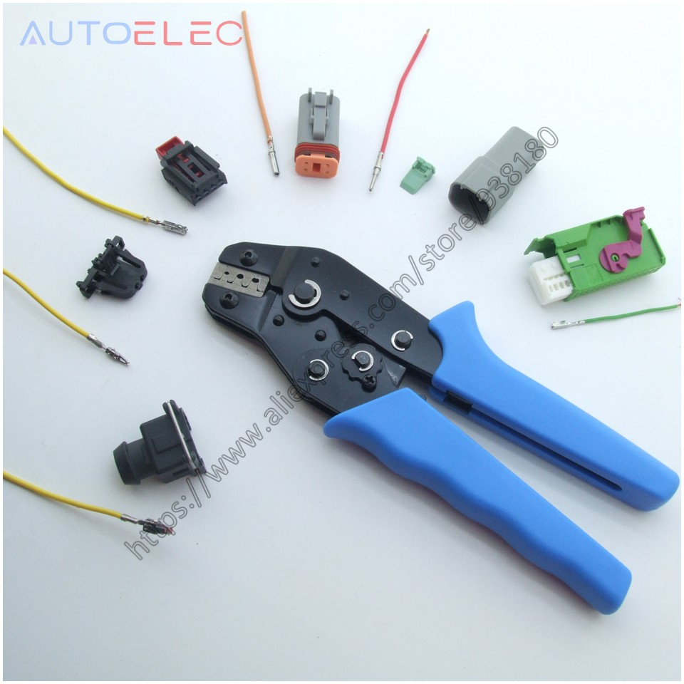 ECU Terminal Crimping Tool BARREL CRIMPER OPEN BARREL Automotive AUX - Handverktyg - Foto 1
