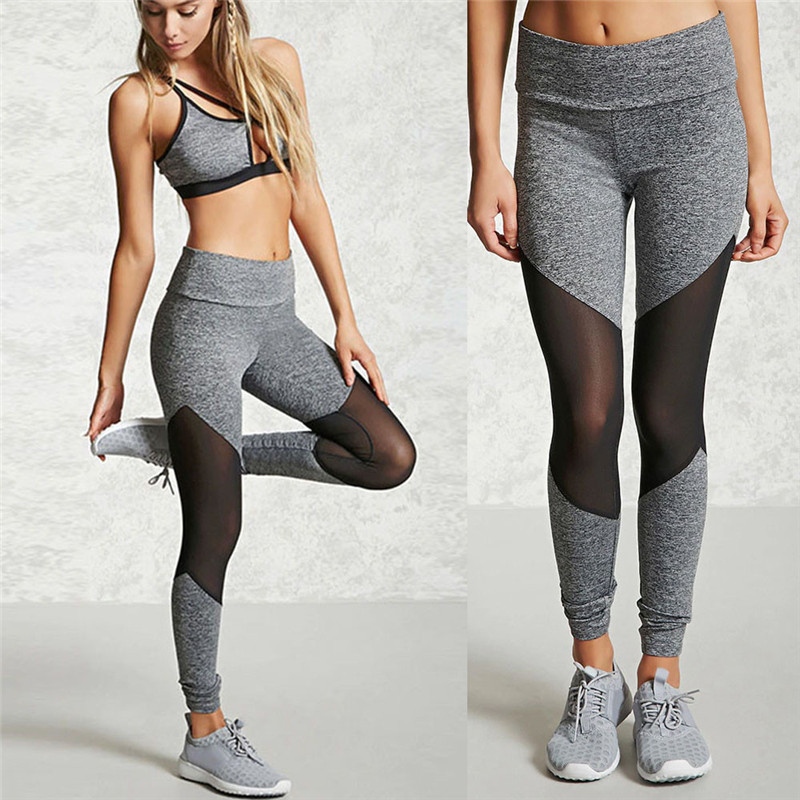 JAYCOSIN Women Sporting Leggings Black Print Workout Fitness Legging Pants Slim Jeggings Wicking Force Exercise Clothes Ropa dp