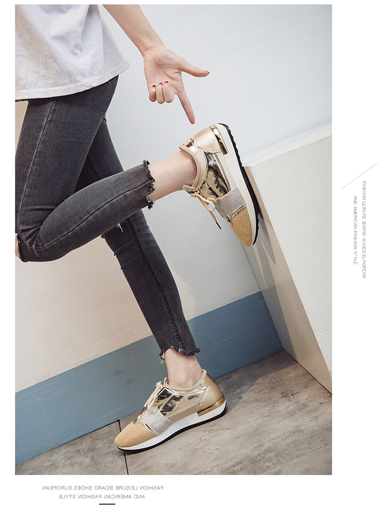 women sneakers platform casual shoes breathable autumn walking casual shoes loafers