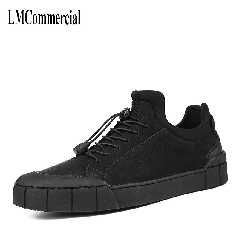 Black men's winter high tops male Korean Vintage British shoes all-match personality  British retro men shoes breathable sneaker new autumn winter british retro men shoes red new shoes all match 2017 male korean men s leather high boots breathable fashion
