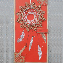 Eastshape Feather Dies Metal Cutting Scrapbooking Die Cut for Cards Decorative Photo Album Making Craft New 2019