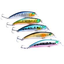 5PCS/Lot 6.5cm 4.1g Minnow Fishing Lure Wobblers Crankbait artificiais para pesca Japan Hard Bait Swimbait fishing