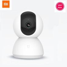 Оригинальный Xiaomi mijia Smart Cam 720 P Ночное видение камера IP Cam видеокамера 360 Угол panora WI-FI Беспроводной Magic зум