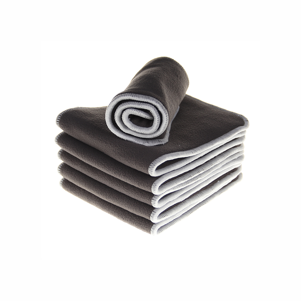 1Pcs/Set Reusable 4 Layers Of Bamboo Charcoal Fiber Insert Soft Baby Cloth Nappy Diaper Use Water Absorbent Breathable Diaper