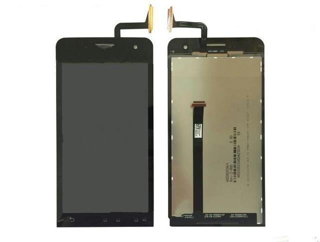 100% genuine display lcd e touch screen digitador assembléia para asus zenfone 5 a500cg a500kl t00j com película protetora instock