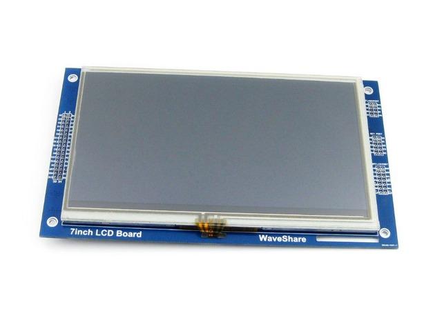 7 polegadas de Toque Resistivo LCD Módulo de Tela 800*480 Pixel Da Tela Multicolor Controlador RA8875 Incorporado 10KB Personagem ROM