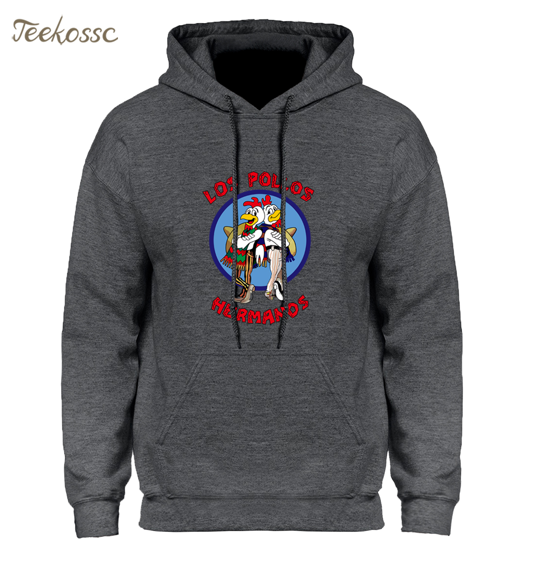 Breaking Bad Hoodie Men LOS POLLOS Hermanos Hooded Sweatshirt Chicken Brothers Hoodies Mens 2018 Winter Autumn Swag Hoody Men's