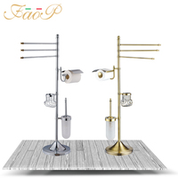 FOAP Bath Hardware Sets Bathroom brush holder Bath Tissue Holders Bathroom Accessories set Toilet Paper Holder