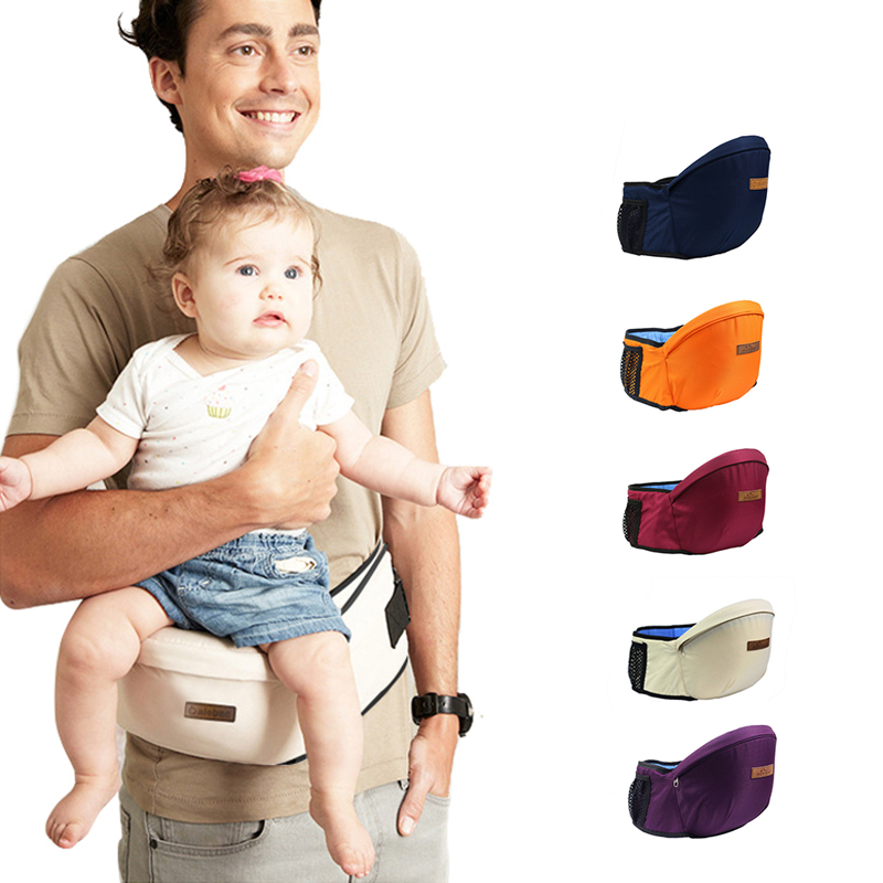 Baby Carrier Waist Stool Walkers Baby Sling Hold Waist Belt Backpack Hipseat Belt Kids Infrant Hipsit-in Backpacks & Carriers from Mother & Kids on AliExpress