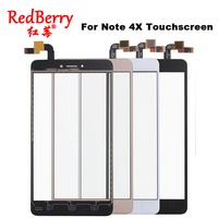 Redberry For Xiaomi Redmi Note 4X Touch Screen Front Glass With Sensor Perfect Repair Replacement For