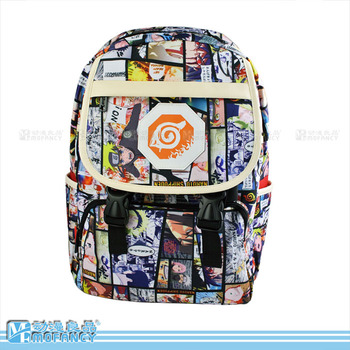 Anime Himouto Umaru chan /ONE PUNCH MAN /NARUTO/Tokyo Ghoul Cosplay  Male and female secondary school students bag