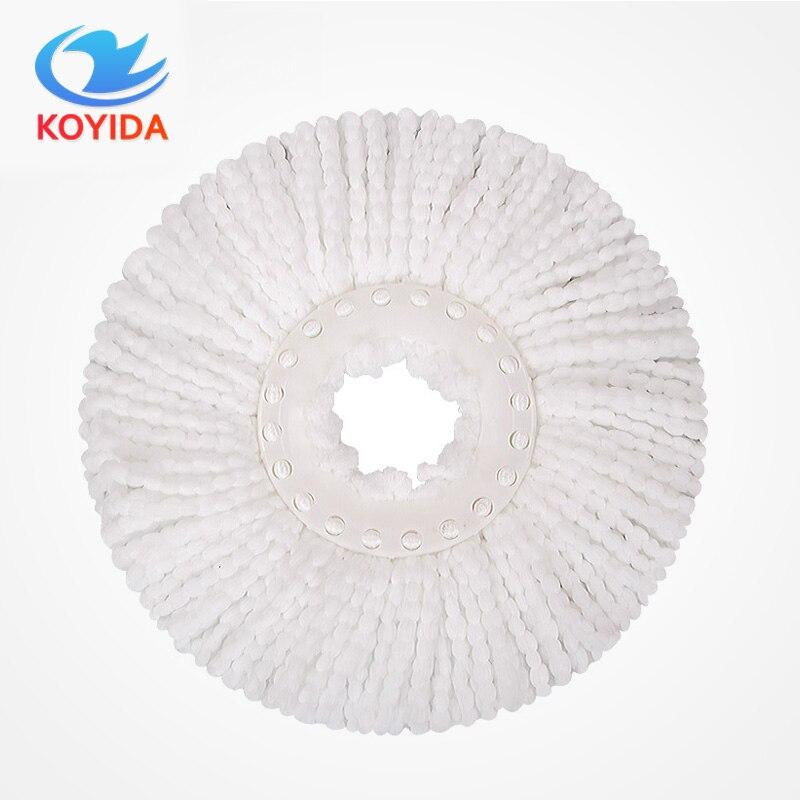 Koyida 360 градусов микрофибры Швабры головы до mop Home Clean Инструменты Заправка для 360 Магия Легко спин Швабры бытовой Инструменты