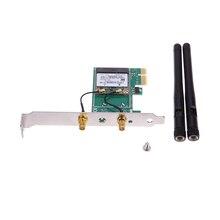 Новый PCI-e PCI Express 150 М Беспроводная Карта Wi-Fi Адаптер 2 шт. Внешние Антенны Обеспечивают Беспроводной Повторитель и AP
