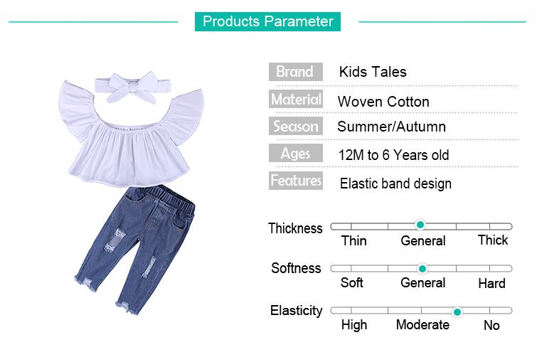 Children Sets for Girls Fashion 19 New Style Girls Suits for Children Girls T-shirt + Pants + Headband 3pcs. Suit ST307 168