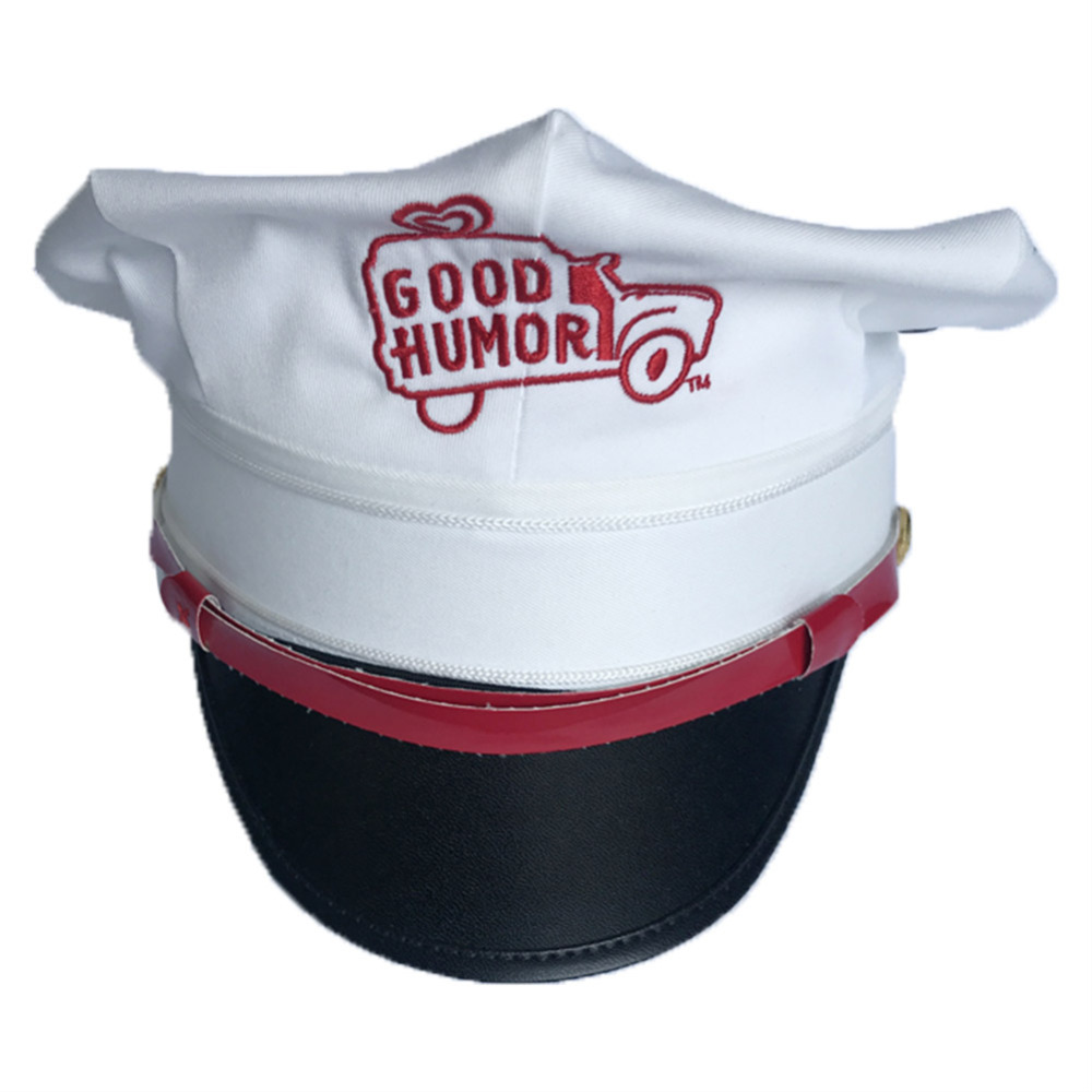 Adult Military Hats Octagonal Cap Halloween Carnival Party officer Aviator Airline Pilot Hats Caps Men Women White Red Cotton