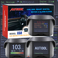 Autool Multi-Function Car OBD Smart Digital Meter & Alarm Fault Code Water temperature gauge digital voltage speed meter display