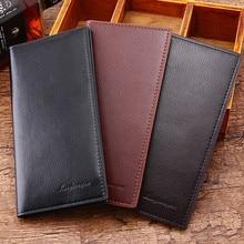 Fashion Men's Wallets Vintage Look Long Wallet
