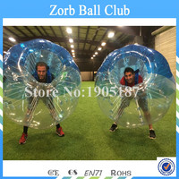 Free Shipping 1. 7m Diameter 1.0mm TPU Bubble Soccer ,Bubble Football ,Body Zorb Ball,Inflatable Bumper Ball For Team Games