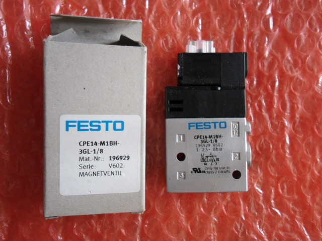 CPE14-M1BH-3GL-1/8 196929 solenoid valves body FESTO without Coil free shipping mlh 5 1 4 b 533138 solenoid valves body festo without coil free shipping