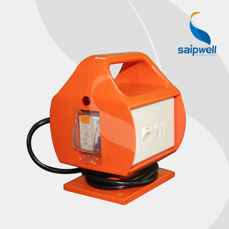 Сид ip33 безопасный предохранитель Austand портативный Водонепроницаемый Розетка / ранцевыми промышленные розетки розетки и выключателя (ИК15)