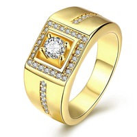 Z003 Fund Male Ring Eight Heart Eight Zirconium Drill Stone Code Online Retailers High Quality