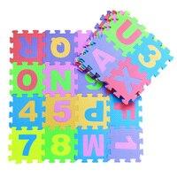 36pcs Set Baby Playmat Letter Number Soft EVA Foam Puzzle Play Mat Floor Crawling Carpet Rug