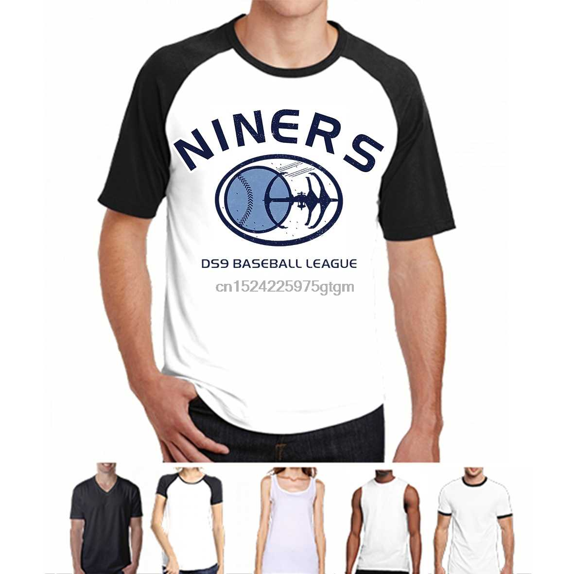 48051fd6f26 Detail Feedback Questions about DS9 Niners Baseball League Logo Graphic T  Shirt on Aliexpress.com
