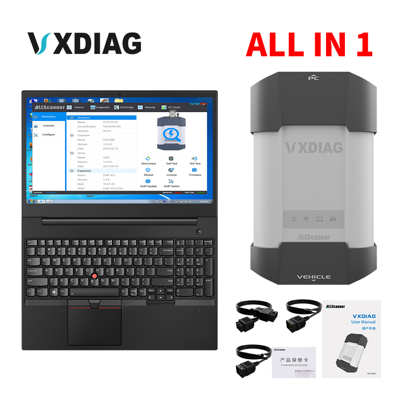 VXDIAG All model in 1 Multidiag Diagnostic Tool For TECH2 For JLR For BMW ICOM A2 A3 For Toyota it3 it2 HDS Star C4