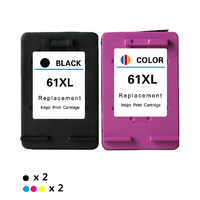 compatible Ink Cartridge replacement for HP 61XL Envy 4500 4502 5530 & Deskjet 1050 2050 3050 3054 3000 1000 Printer