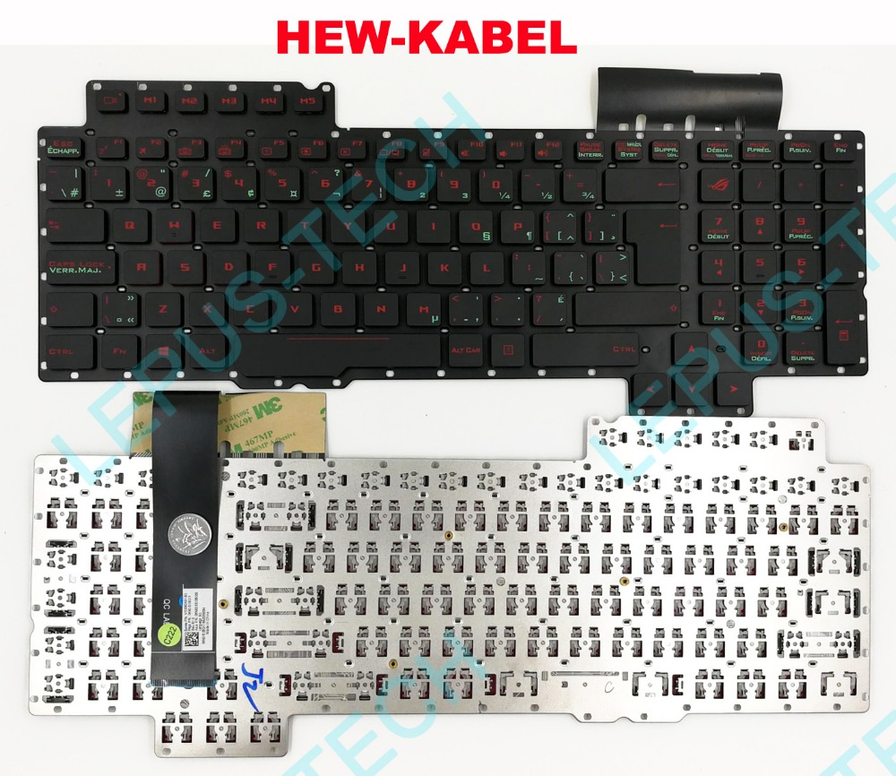 Keyboard for ASUS ROG G752 G752V G752VL G752VM G752VS G752VT G752VY Canadian French CF UK with